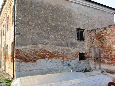 Muri di mattoni per interni frusta per impastare cemento - Muri a vista interni ...