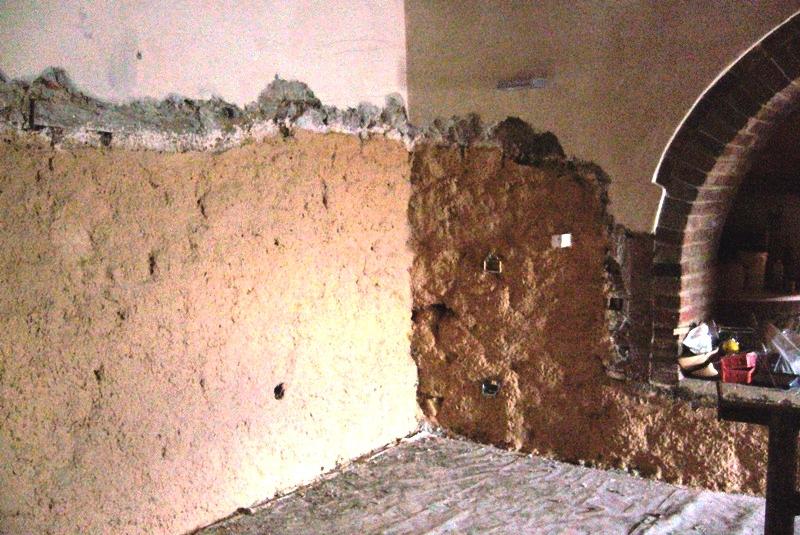 Cocoon applicato per desalinizzare muro