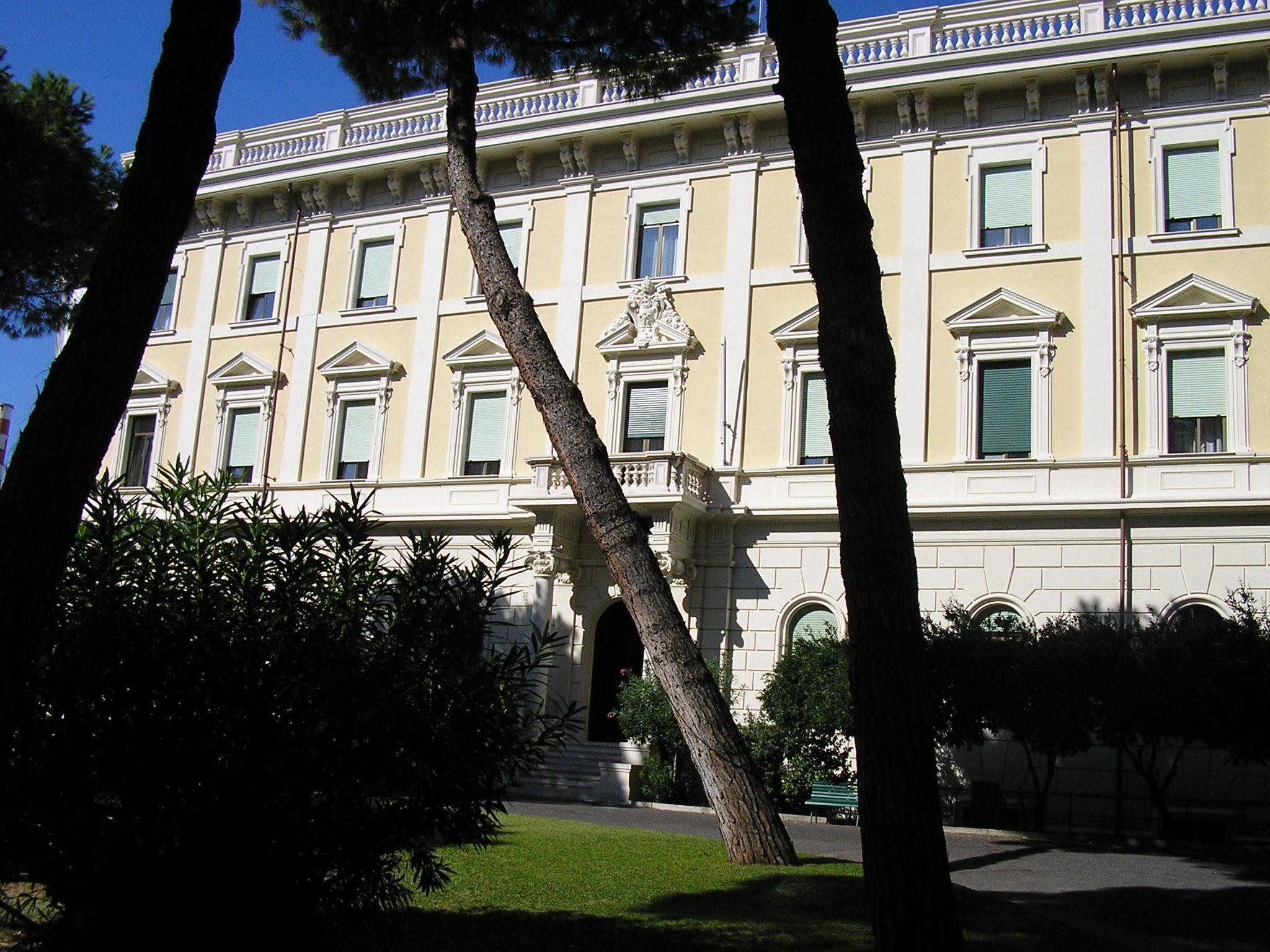 Risanamento cornicione Palazzo Collegio Irlandese, Roma